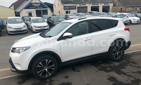 Buy Used Toyota RAV4 White Car in Kampala in Uganda