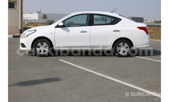 Buy Import Nissan Sunny White Car in Import - Dubai in Uganda