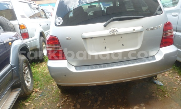 Buy Used Toyota Kluger Silver Car in Arua in Uganda