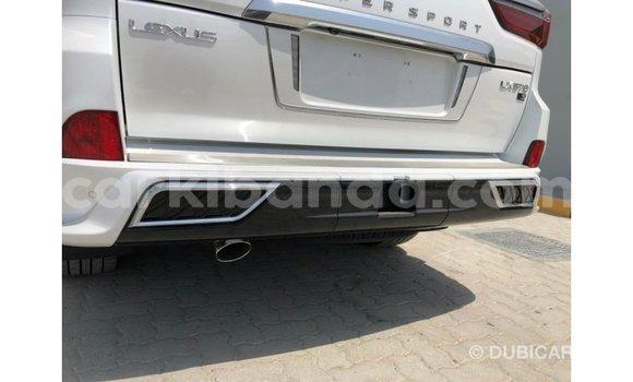 Buy Import Lexus LX White Car in Import - Dubai in Uganda