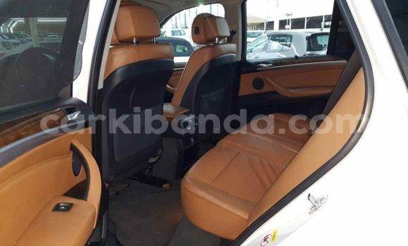 Buy Import BMW X5 White Car in Import - Dubai in Uganda