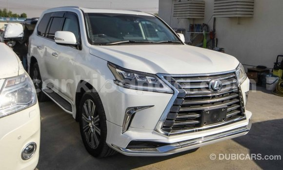 Buy Import Lexus LX White Car in Import - Dubai in Uganda