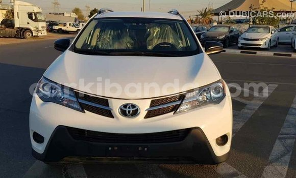 Buy Import Toyota RAV4 White Car in Import - Dubai in Uganda