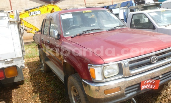 Buy New Toyota Hilux Red Car in Arua in Uganda