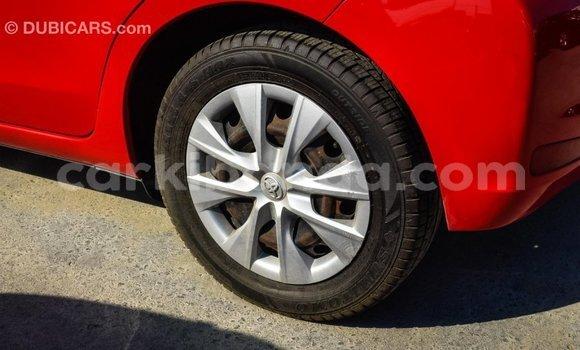 Buy Import Toyota Yaris Red Car in Import - Dubai in Uganda