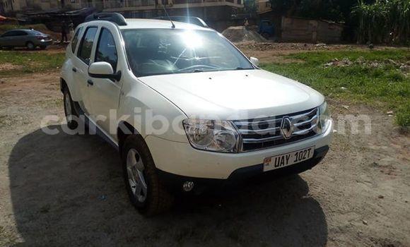 Buy Used Renault Duster White Car in Kampala in Uganda