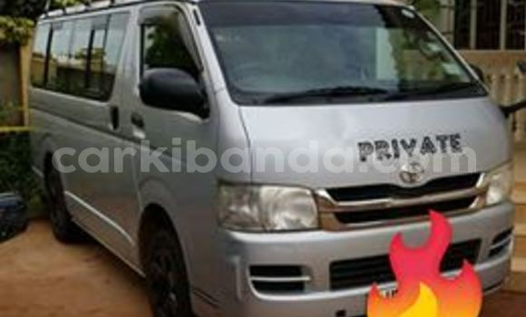 Buy Used Toyota Hiace Silver Car in Kampala in Uganda