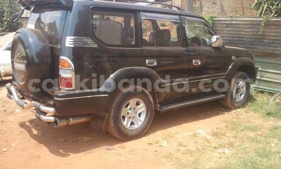 Buy Used Toyota Prado Black Car in Arua in Uganda