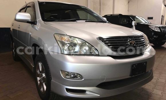 Buy Used Toyota Harrier Silver Car in Kampala in Uganda