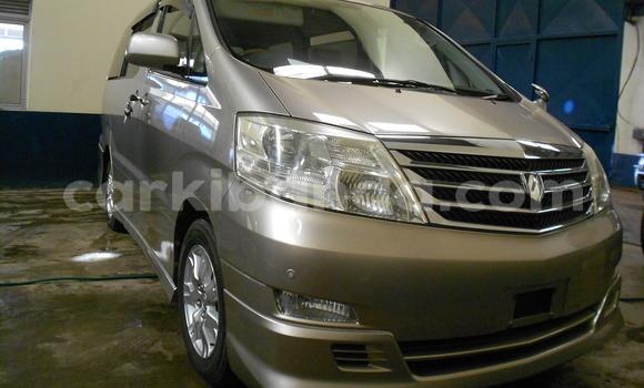 Buy Used Toyota Alphard Beige Car in Kampala in Uganda
