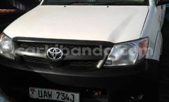 Buy Used Toyota Hilux White Car in Kampala in Uganda