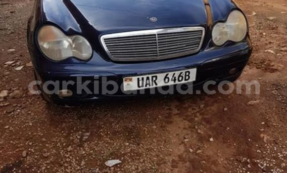 Buy Used Mercedes‒Benz C–Class Blue Car in Kampala in Uganda