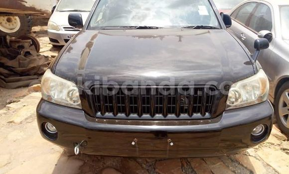 Buy Used Toyota Kluger Black Car in Kampala in Uganda