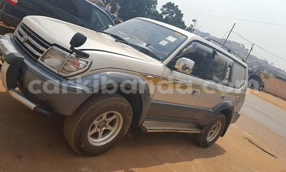 Buy Used Toyota 4Runner White Car in Kampala in Uganda