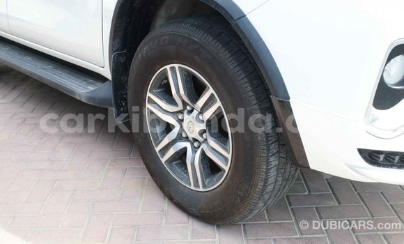 Buy Import Toyota Fortuner White Car in Import - Dubai in Uganda