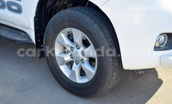 Gura Imported Toyota Prado White Imodoka i Import - Dubai mu Uganda