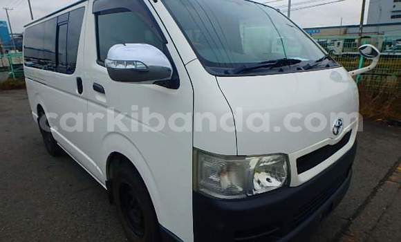 Buy Used Toyota Hiace White Car in Kampala in Uganda