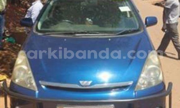 Gura Yakoze Toyota Wish Blue Imodoka i Kampala mu Uganda