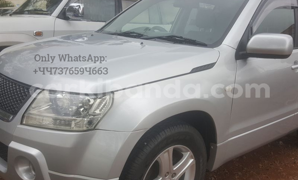Buy Used Suzuki Grand Vitara Silver Car in Kampala in Uganda