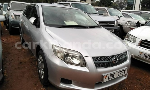 Buy Used Toyota Fielder Silver Car in Kampala in Uganda