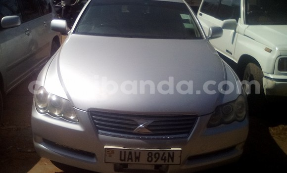 Buy Used Toyota Mark X Silver Car in Arua in Uganda