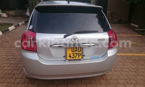 Buy Used Toyota Allex Black Car in Kampala in Uganda