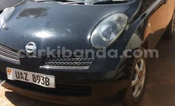 Buy Used Nissan Micra Black Car in Kampala in Uganda