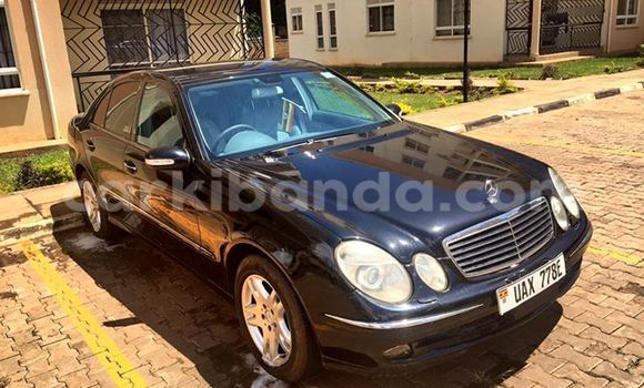 Buy Used Mercedes‒Benz E–Class Black Car in Kampala in Uganda