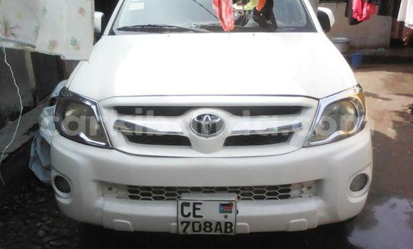 Buy Used Toyota Hilux White Car in Kampala in Uganda