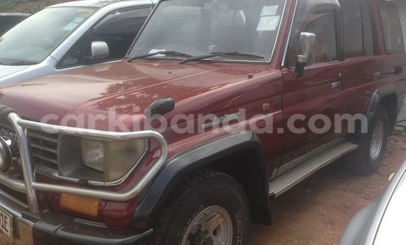 Buy Used Toyota Land Cruiser Red Car in Kampala in Uganda