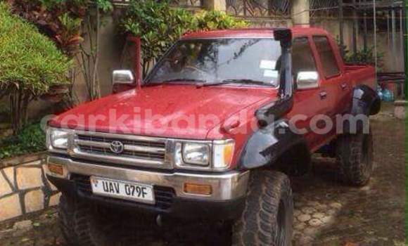 Buy Used Toyota Hilux Red Car in Kampala in Uganda