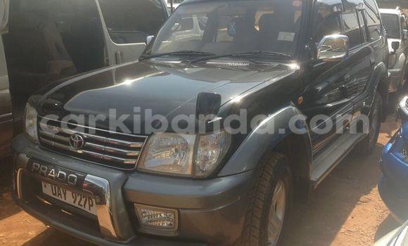 Buy Used Toyota Land Cruiser Prado Black Car in Kampala in Uganda