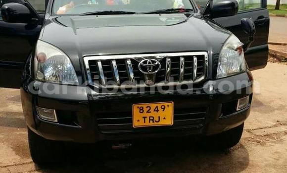 Buy New Toyota Prado Black Car in Kampala in Uganda