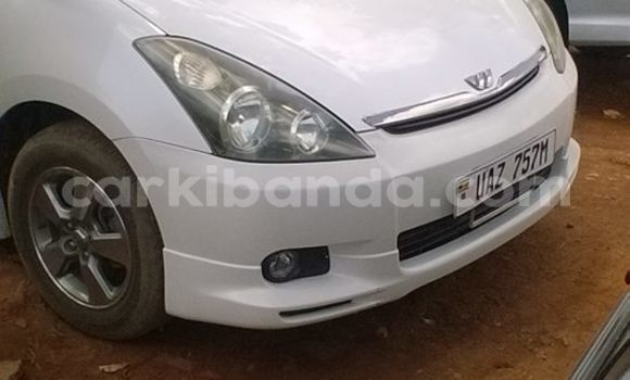 Buy Used Toyota Wish White Car in Kampala in Uganda
