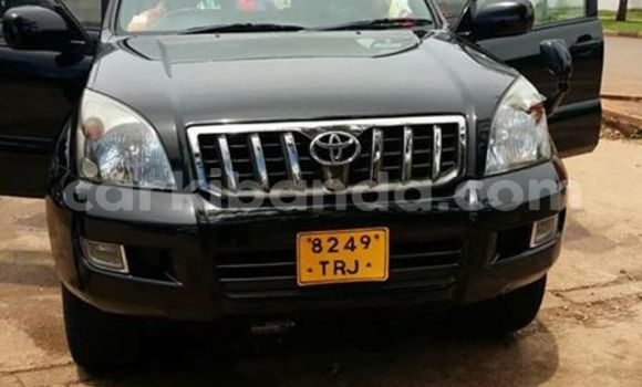 Buy Used Toyota Prado Black Car in Kampala in Uganda