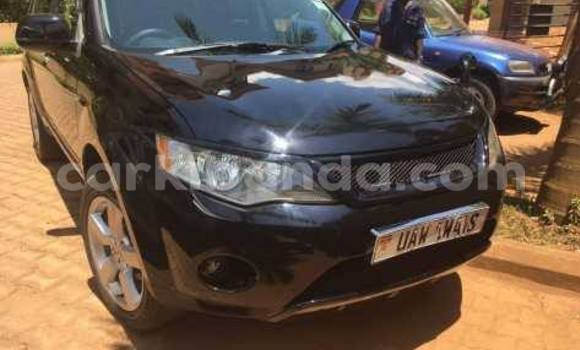 Buy Used Mitsubishi Outlander Black Car in Kampala in Uganda