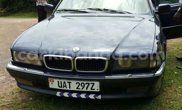 Buy Used BMW 5-Series Blue Car in Kampala in Uganda