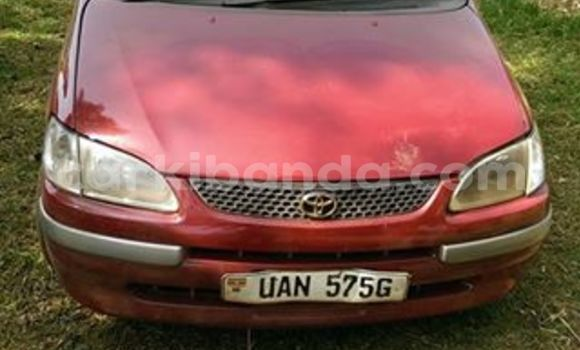Buy Used Toyota Spacio Red Car in Kampala in Uganda