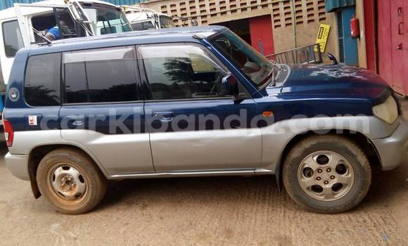 Buy Used Mitsubishi Pajero Blue Car in Kampala in Uganda