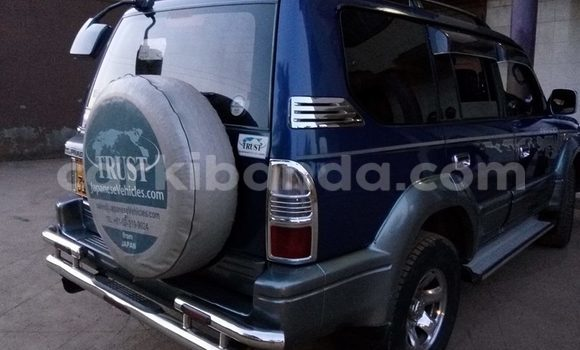 Buy Used Toyota Prado Blue Car in Kampala in Uganda