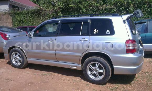 Buy Used Toyota Kluger Silver Car in Kampala in Uganda