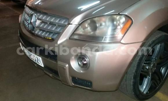 Buy Used Mercedes Benz ML–Class Silver Car in Kampala in Uganda