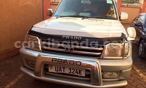 Buy Used Toyota Land Cruiser Prado Silver Car in Kampala in Uganda
