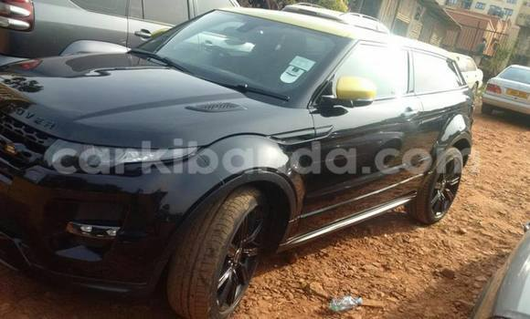Buy Used Land Rover Range Rover Evoque Black Car in Kampala in Uganda