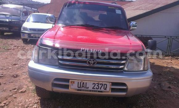 Buy Used Toyota Land Cruiser Prado Red Car in Kampala in Uganda