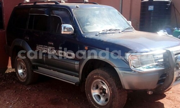 Buy Used Toyota Land Cruiser Blue Car in Kampala in Uganda