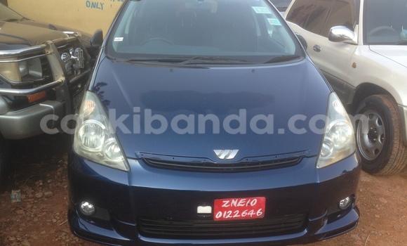 Buy New Toyota Wish Blue Car in Arua in Uganda