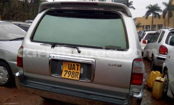 Buy Used Toyota Surf Silver Car in Kampala in Uganda