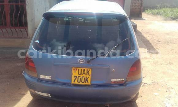 Buy Used Toyota Starlet Blue Car in Kampala in Uganda