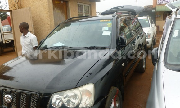 Buy Used Toyota Kruger Black Car in Kampala in Uganda